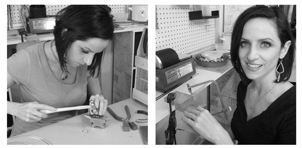 Behind the scenes at Jewelry Tutorial Headquarters- making jewelry in my studio!