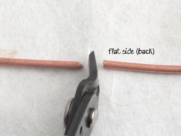 how flush cutters work - basic jewelry making tools