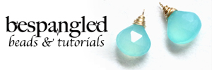 Bespangled Beads and Tutorials on Etsy