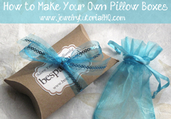 pillow gift box tutorial
