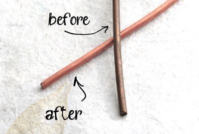 How to clean brass or copper quickly, easily, and safely. No harsh chemicals!