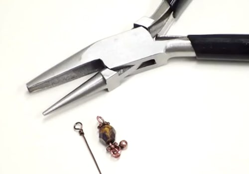 how to use wire looping pliers